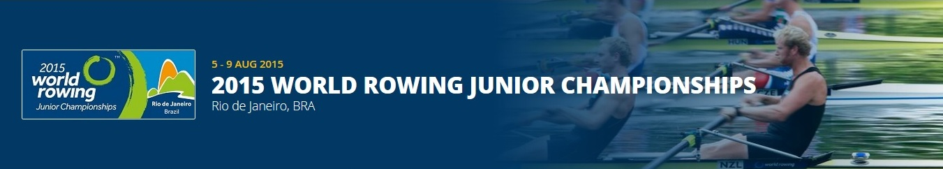 2015 World Rowing Junior Championships